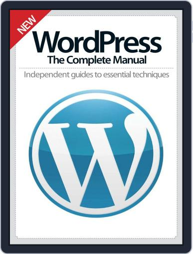 WordPress The Complete Manual September 24th, 2014 Digital Back Issue Cover