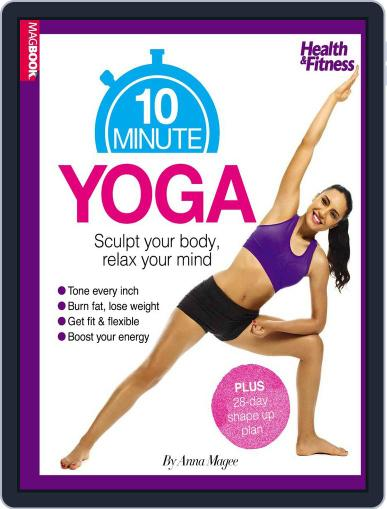 Health & Fitness 10 Minute Yoga October 27th, 2014 Digital Back Issue Cover