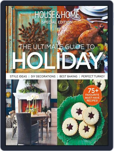 House & Home: Holiday November 4th, 2014 Digital Back Issue Cover