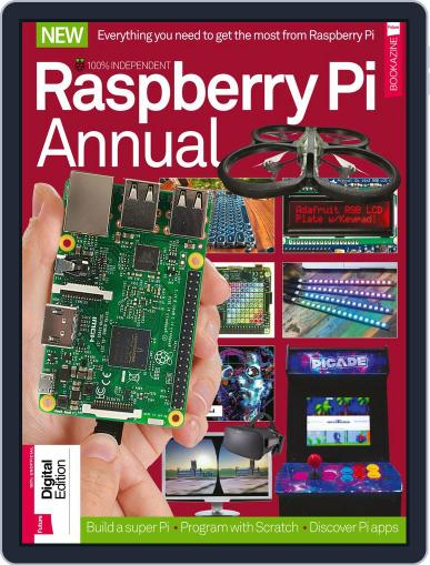 Raspberry Pi Annual Volume 1 January 2nd, 2018 Digital Back Issue Cover