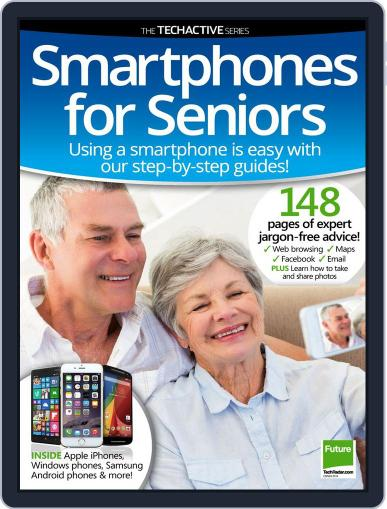 Smartphones for Seniors December 30th, 2014 Digital Back Issue Cover
