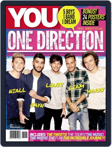 YOU One Direction February 1st, 2015 Digital Back Issue Cover