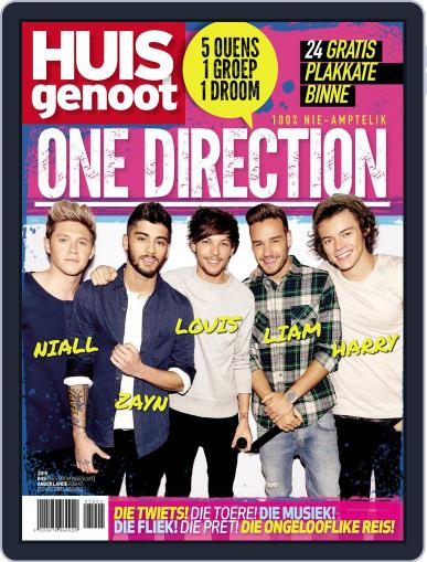 Huisgenoot One Direction February 1st, 2015 Digital Back Issue Cover