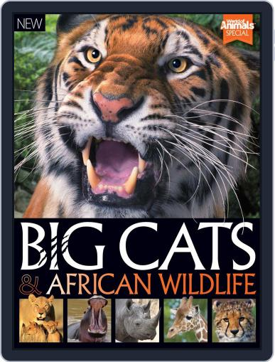 World of Animals Book of Big Cats and African Wildlife March 1st, 2016 Digital Back Issue Cover