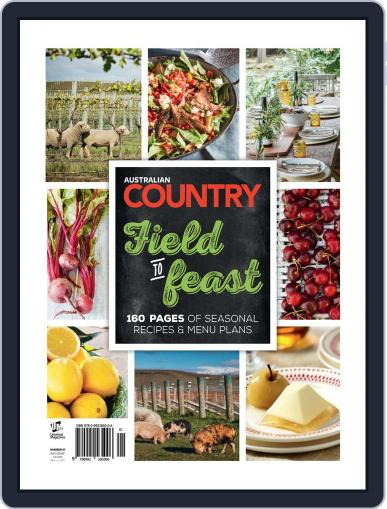Australian Country Cookbook April 20th, 2015 Digital Back Issue Cover