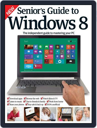 Senior's Guide To Windows 8 May 20th, 2015 Digital Back Issue Cover