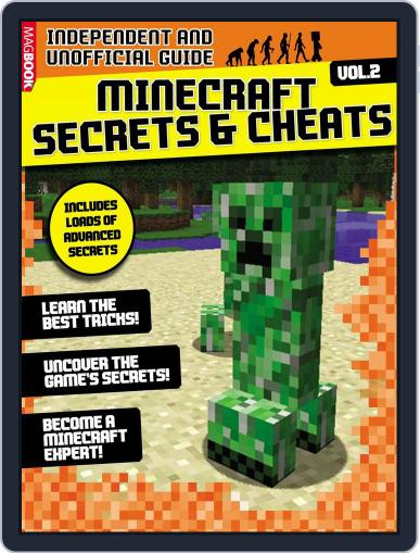Minecraft Secrets & Cheats: 100% Unofficial July 27th, 2016 Digital Back Issue Cover