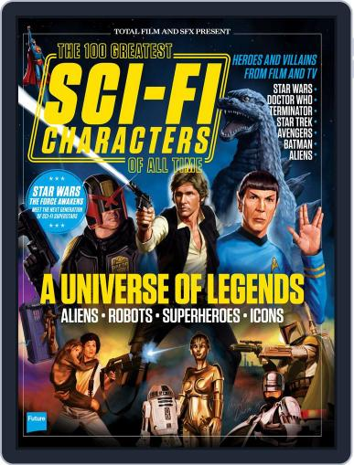 100 Greatest Sci-Fi Characters June 30th, 2015 Digital Back Issue Cover
