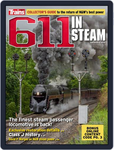 611 In Steam July 24th, 2015 Digital Back Issue Cover