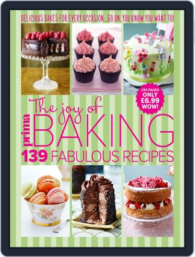Prima The Joy of Baking July 29th, 2015 Digital Back Issue Cover
