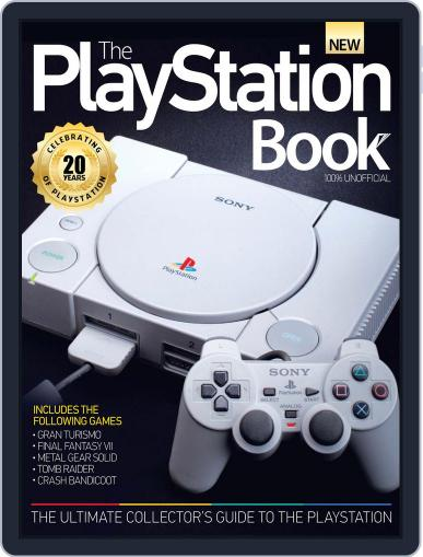The PlayStation Book August 19th, 2015 Digital Back Issue Cover