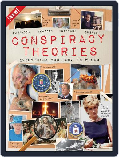 Conspiracy Theories September 16th, 2015 Digital Back Issue Cover