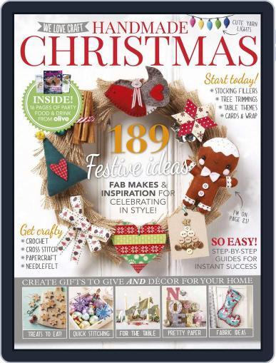 Handmade Christmas September 30th, 2015 Digital Back Issue Cover