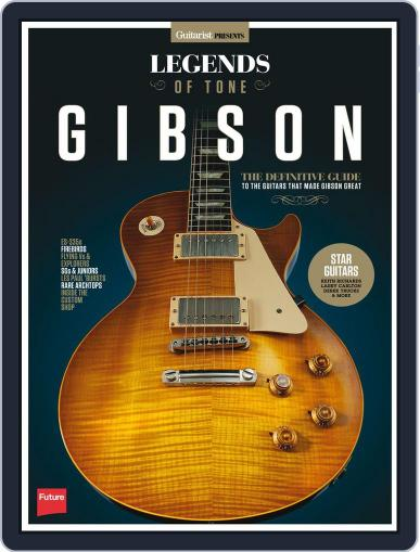 Legends of Tone - Gibson October 5th, 2015 Digital Back Issue Cover