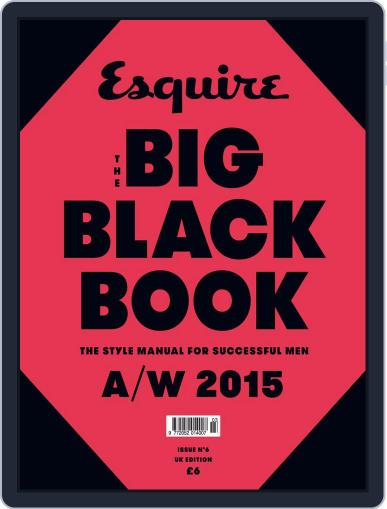 The Big Black Book United Kingdom October 22nd, 2015 Digital Back Issue Cover