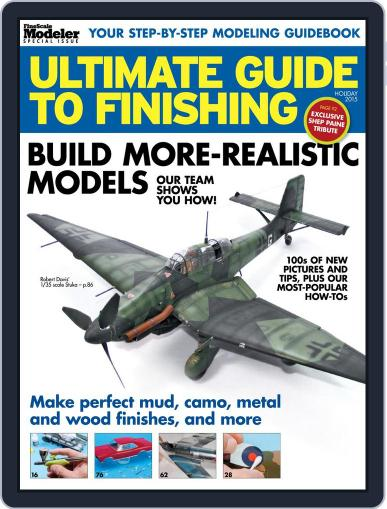 Ultimate Guide to Finishing November 3rd, 2015 Digital Back Issue Cover