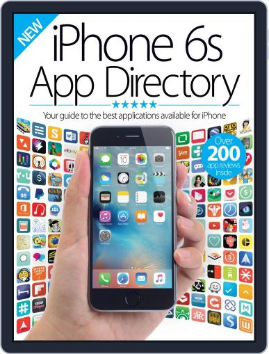 iPhone 6S App Directory Vol 1 November 5th, 2015 Digital Back Issue Cover