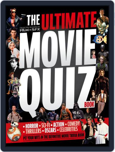The Ultimate Movie Quiz Book November 19th, 2015 Digital Back Issue Cover