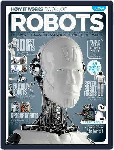 How It Works Book of Robots November 1st, 2016 Digital Back Issue Cover