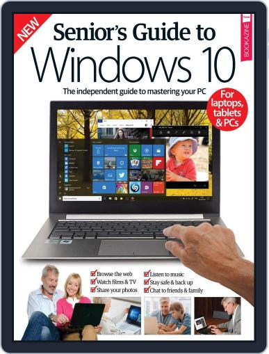 Senior's Guide To Windows 10 January 1st, 2017 Digital Back Issue Cover