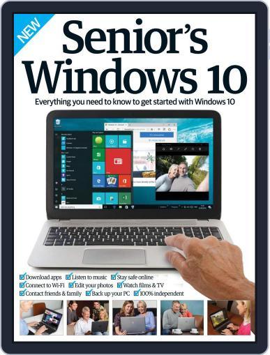 Senior's Edition Windows 10 October 1st, 2016 Digital Back Issue Cover