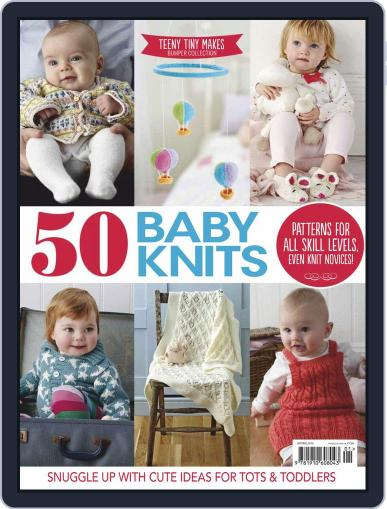 50 Baby Knits June 1st, 2016 Digital Back Issue Cover