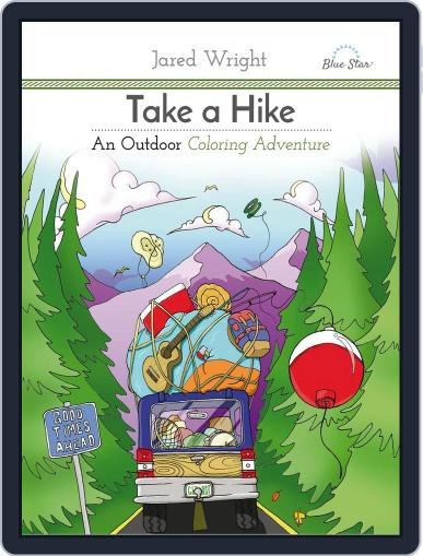 Take A Hike: An Outdoor Coloring Adventure July 1st, 2016 Digital Back Issue Cover
