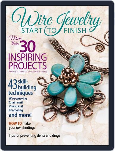 Wire Jewelry Start to Finish September 1st, 2016 Digital Back Issue Cover