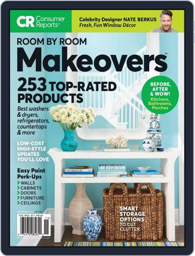Room by Room Makeovers November 1st, 2017 Digital Back Issue Cover