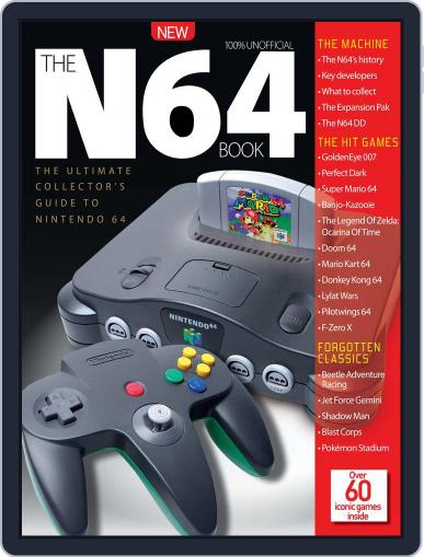 The N64 Book September 30th, 2016 Digital Back Issue Cover