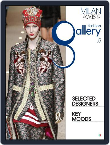 FASHION GALLERY MILAN April 23rd, 2018 Digital Back Issue Cover
