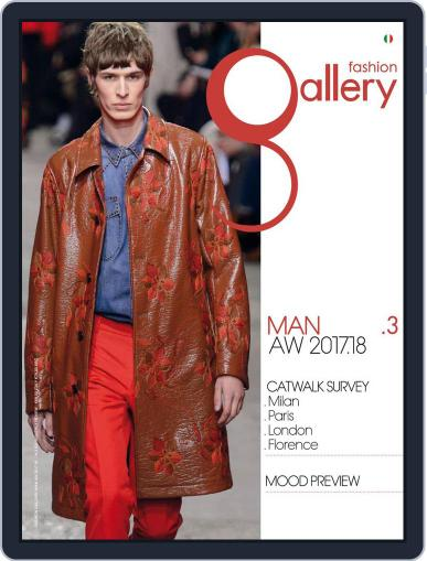 FASHION GALLERY MAN September 1st, 2017 Digital Back Issue Cover