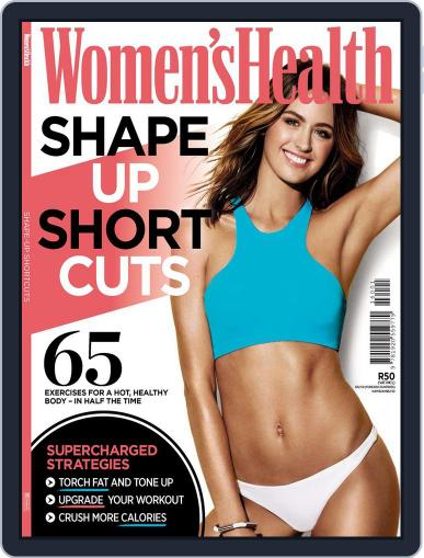 Women's Health Shape up shortcuts September 30th, 2016 Digital Back Issue Cover