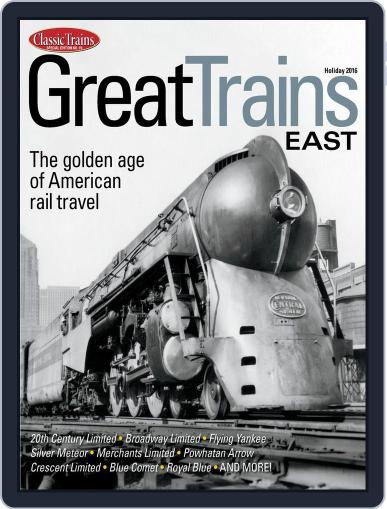 Great Trains East January 1st, 2016 Digital Back Issue Cover
