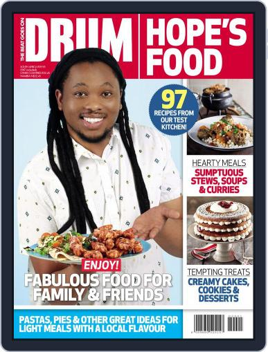 DRUM: Hope's Food October 31st, 2016 Digital Back Issue Cover