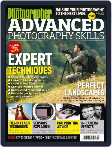 Advanced Photography Skills October 1st, 2013 Digital Back Issue Cover