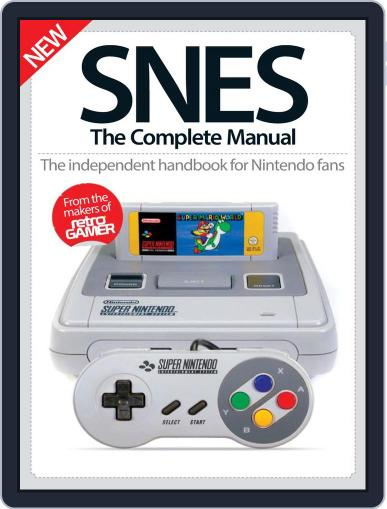 SNES The Complete Manual December 8th, 2016 Digital Back Issue Cover