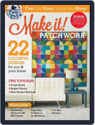 MAKE IT! PATCHWORK January 1st, 2017 Digital Back Issue Cover