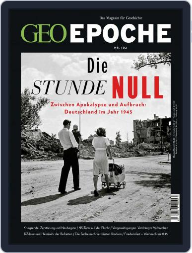 GEO EPOCHE April 1st, 2020 Digital Back Issue Cover