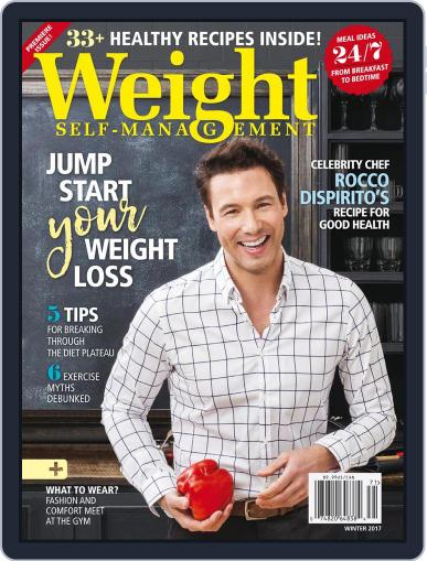 Weight Self-Management January 1st, 2017 Digital Back Issue Cover