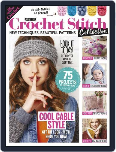 Crochet Stitch Collection January 1st, 2017 Digital Back Issue Cover