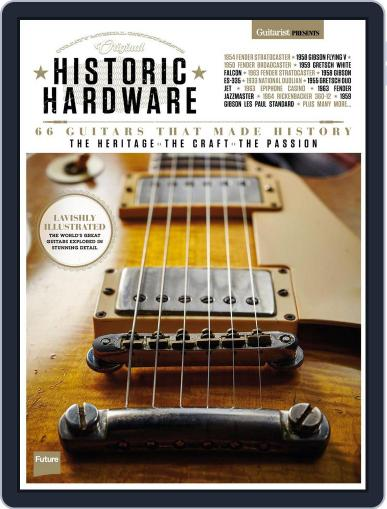 Guitarist Presents: Historic Hardware March 1st, 2017 Digital Back Issue Cover