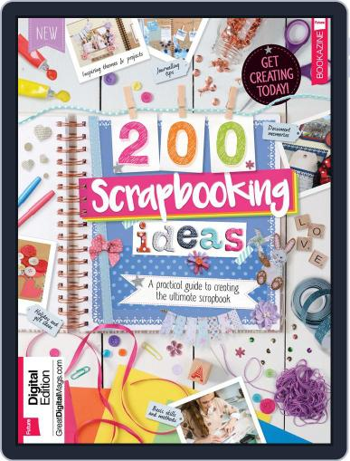 200 Scrapbooking Ideas March 1st, 2017 Digital Back Issue Cover