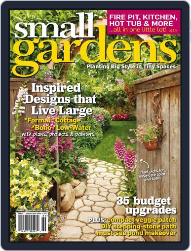 Small Gardens April 1st, 2017 Digital Back Issue Cover