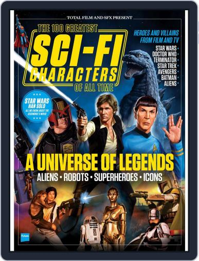 The 100 Greatest Sci-Fi Characters Of All Time March 1st, 2017 Digital Back Issue Cover