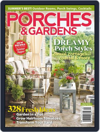 Porches & Gardens March 1st, 2017 Digital Back Issue Cover