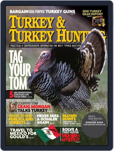 Turkey & Turkey Hunting February 20th, 2018 Digital Back Issue Cover