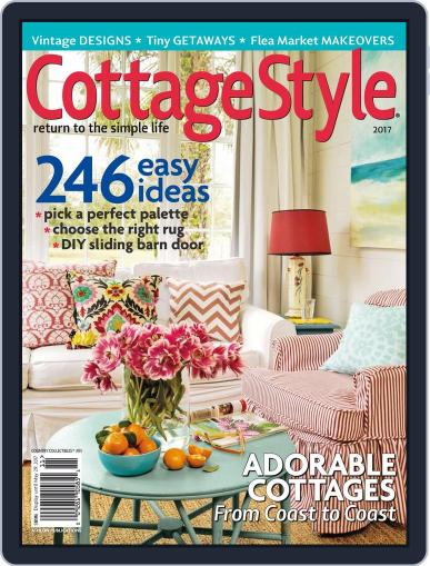 Country Collectibles Cottage Style May 29th, 2017 Digital Back Issue Cover