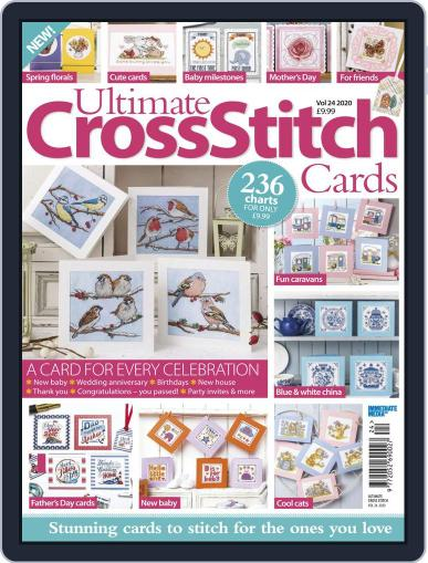 Ultimate Cross Stitch Cards March 1st, 2020 Digital Back Issue Cover