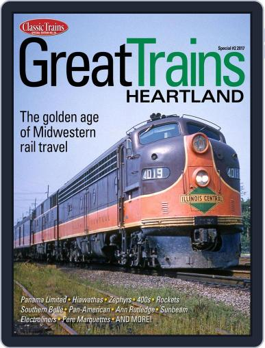Great Trains Heartland March 1st, 2017 Digital Back Issue Cover